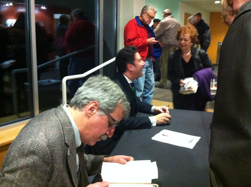 Kevin Killeen - KMOX-Fontbonne Book Club - 11.27.12