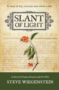 Slant of Light by Steve Wiegenstein - cover